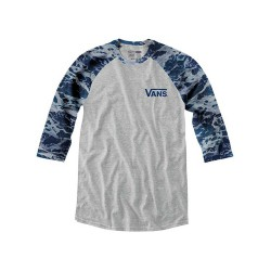 Vans Backwash Blues Raglan heather grey/backwash