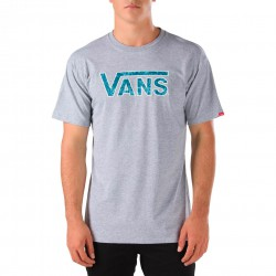 Vans Classic Logo heather grey/indigo bloom