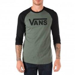 Vans Classic Raglan heather olive/black