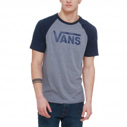 Vans Classic Ss Raglan heather grey/navy