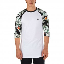 Vans Decay Palm Raglan white/black decay palm