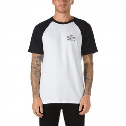 Vans Fixed Ss Raglan white/black