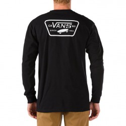 Vans Full Patch Back Ls black/white