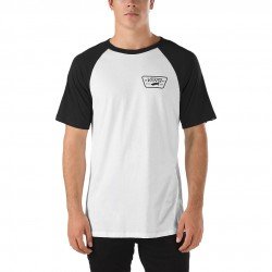 Vans Full Patch SS Raglan white/black
