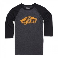 Vans Otw Raglan Boys black heather/black