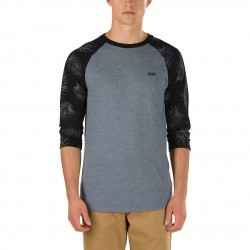 Vans Tonal Palm Raglan heather grey tonal palm