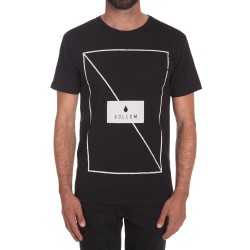 Volcom Line Through black