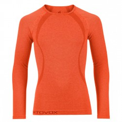 Ortovox Competition Cool Long Sleeve crazy orange