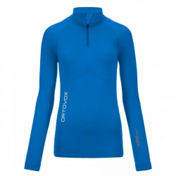 Ortovox Competition Zip Neck WMS blue ocean