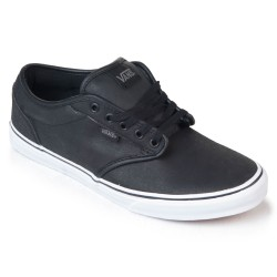 Vans Atwood buck leather black/white