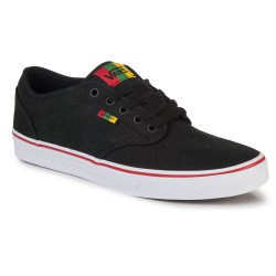 Vans Atwood rasta black/red