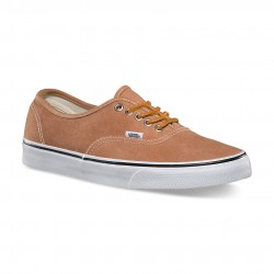 Vans Authentic brushed twill leather brown