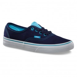 Vans Authentic clear eyelets eclipse/river blue