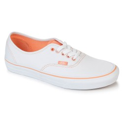 Vans Authentic clear eyelets true white/canta.
