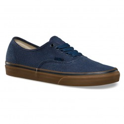 Vans Authentic washed canvas dress blues/gum