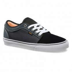 Vans Chukka Low black/charcoal/orange