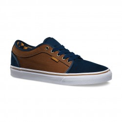 Vans Chukka Low herringbone navy/tobacco