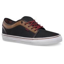Vans Chukka Low leather black/brown