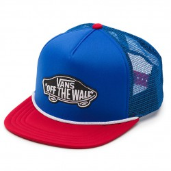 Vans Classic Patch Trucker blue/red