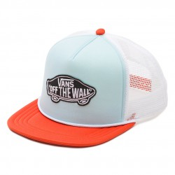 Vans Classic Patch Trucker crystal blue/tigerlily
