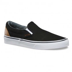 Vans Classic Slip-On c&l black/stripe denim