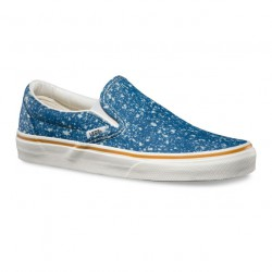Vans Classic Slip-On denim splatter blue