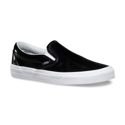 Vans Classic Slip-On tumble patent black