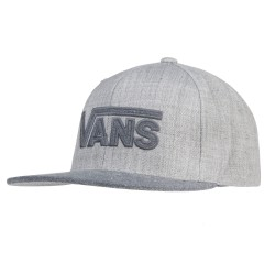 Vans Drop V Plus Snapback heather grey