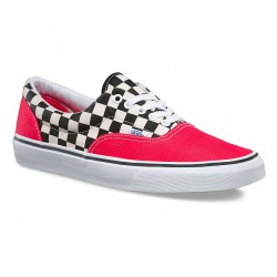 Vans Era 2-tone check/rouge red