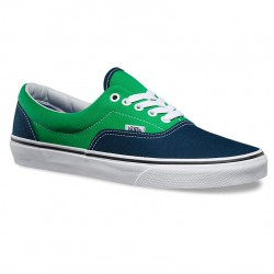 Vans Era 2 tone dress blues/kelly green