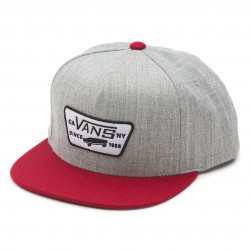 Vans Full Patch Snapback heather grey/wine