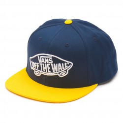 Vans Home Team Snapback royal/yellow