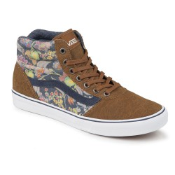 Vans Milton Hi mte flower suede/brown