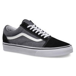 Vans Old Skool suede chambray black
