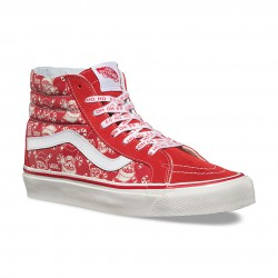 Vans Sk8-Hi 38 Reissue 50th stv/pirate santa/red