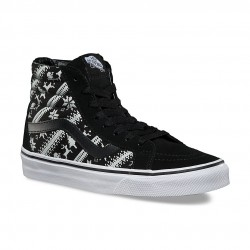 Vans Sk8-Hi Reissue Holiday fair isle black/true white