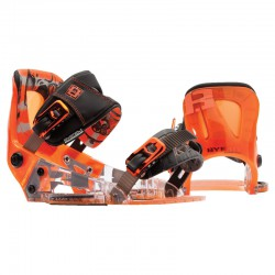 Byerly System Binding orange/black