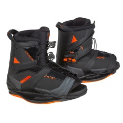 Ronix Network space black/electric orange