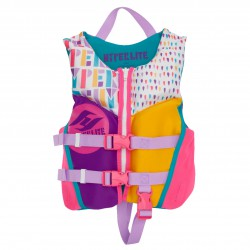 Hyperlite Girls Child Indy Neo Vest pink/aqua