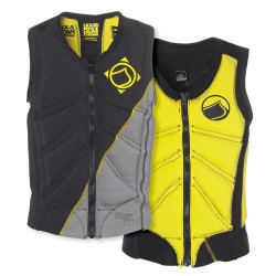 Liquid Force Wms Z-Cardigan coal/grey