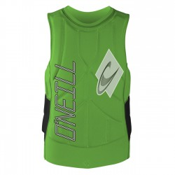 O'Neill Gooru Tech Comp Vest dayglogreen/black