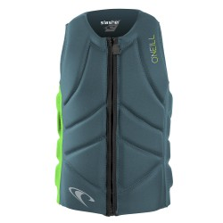 O'Neill Slasher Comp Vest dusty blue/dayglo