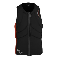 O'Neill Slasher Kite Vest black/neon red