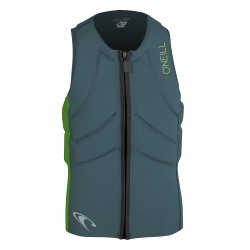 O'Neill Slasher Kite Vest dusty blue/dayglo