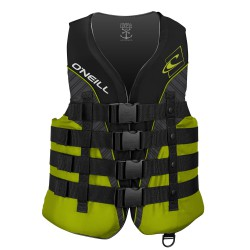 O'Neill Superlite 50N Ce Vest black/lime/smoke/lime