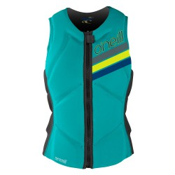 O'Neill Wms Slasher Comp Vest light aqua/graphite