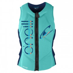 O'Neill Wms Slasher Comp Vest seaglass/navy