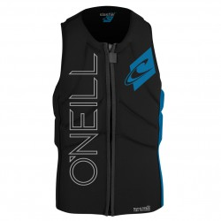 O'Neill Youth Slasher Comp Vest black/bright/blue