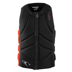O'Neill Youth Slasher Comp Vest black/neon red