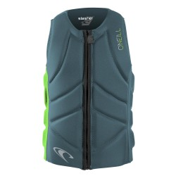 O'Neill Youth Slasher Comp Vest dusty blue/dayglo